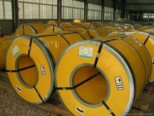 China 316 L 321 430 430L laminaron la superficie de las bobinas 2B del acero inoxidable con la anchura de 1000m m 1219m men ventas